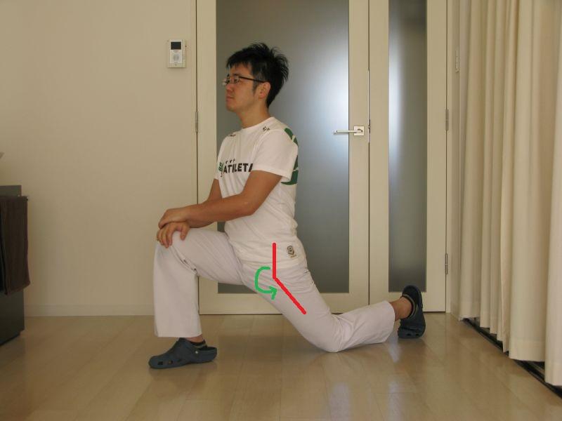 腸腰筋(大腰筋・腸骨筋)のストレッチ