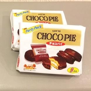 チョコパイふたつchoco-pie2