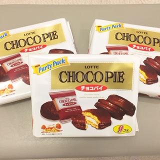 チョコパイみっつchoco-pie3