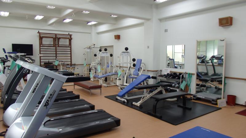 神戸市立東灘体育館トレーニング室