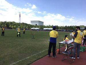 障害者のじぎくスポーツ大会フライングディスク
